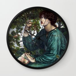Dante Gabriel Rossetti - The Day Dream Wall Clock