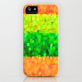 Sparkle Glitter Orange iPhone Case