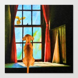Daydreaming by Liane Wright Canvas Print