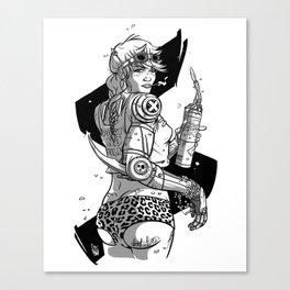 Ro-bo-booty Canvas Print