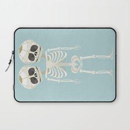 Siamese Twins Skeleton Laptop Sleeve