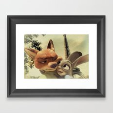 Zootopia Framed Art Print
