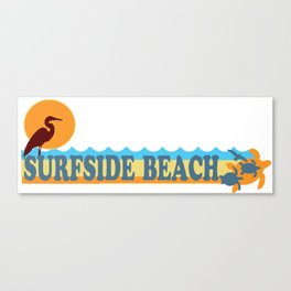 Surfside Beach - South Carolina. Canvas Print