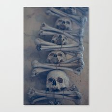 Kostnice Canvas Print