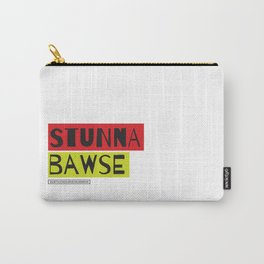 Stunna Bawse Tee Carry-All Pouch