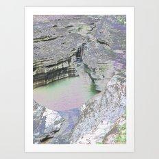 Chromascape 8 (Watkins Glen) Art Print