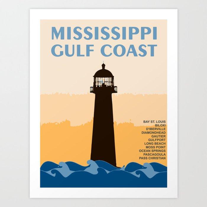 Mississippi's Gulf Coast. Kunstdrucke