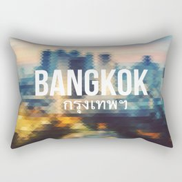 Bangkok - Cityscape Rectangular Pillow