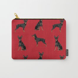 Miniature Doberman Pinscher dog breed pure breed unique pet gifts Carry-All Pouch