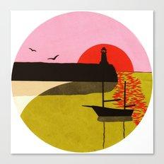 Sea Fever 3 Canvas Print