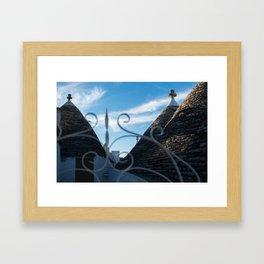 Trulli Framed Art Print