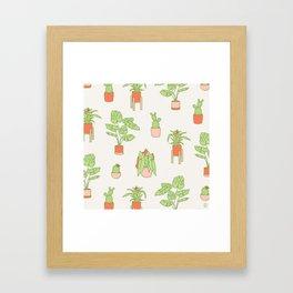 House Plants II Framed Art Print