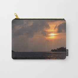 Sunset at the caribbean 001 Carry-All Pouch