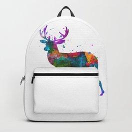 Watercolor Deer Backpack
