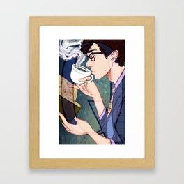 Q is for Quarter Master Framed Art Print