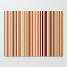 Old Skool Stripes - Morning Canvas Print