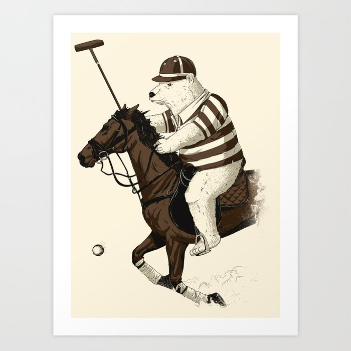Polobear Art Print