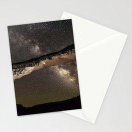 Night sky at Owachomo Bridge 2 Stationery Cards
