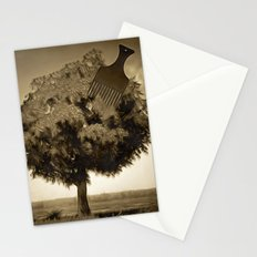 Tree and Comb Stationery Cards
