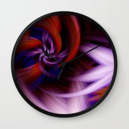 Twirling Wall Clock