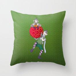 Christmas Nisse Throw Pillow