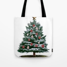 Christmas Tree by Chrissy Tote Bag