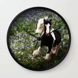 Gypsy Garden Wall Clock
