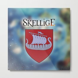 The Witcher - Skellige Logo Metal Print
