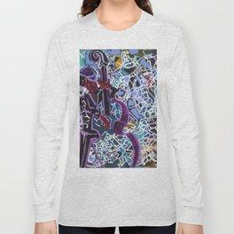 Jazz Bassist Long Sleeve T-shirt