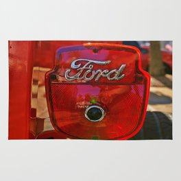Ford Script Taillight Rug