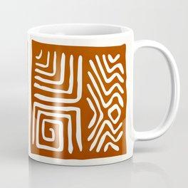 African Ceremonial Pattern Coffee Mug