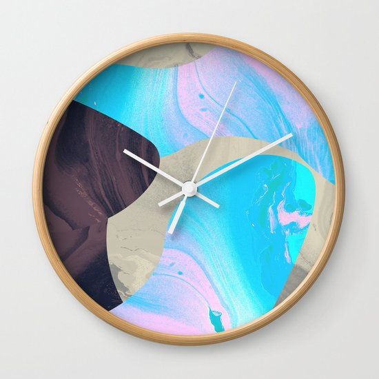 Magma Wall Clock
