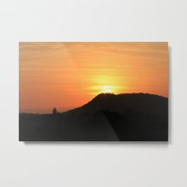 Safari Sunrise Metal Print