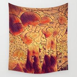 Hasta Pronto Wall Tapestry