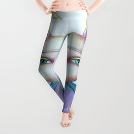 The Hare Who Cared Leggings