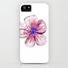 Little Lilac Flower iPhone Case