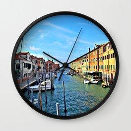 Giudecca Island, Venice Wall Clock