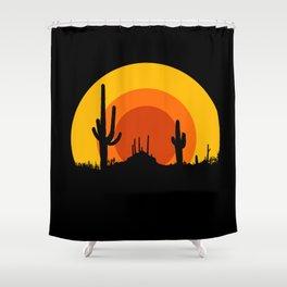 mucho calor Shower Curtain