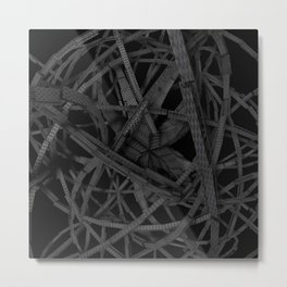 Scary spidery Metal Print