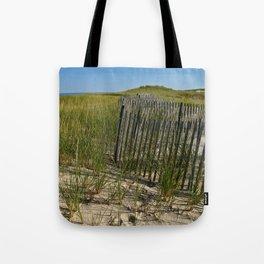 Cape Cod Beach Dunes Tote Bag