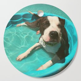 SERENA (shelter pup) Cutting Board