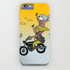 On the freedom experienced by Desert Bike Harpies.   Slim Case iPhone 6s