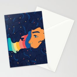 Moonage Daydream Stationery Cards