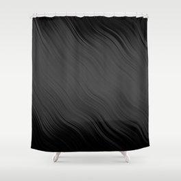 Stripes Wave Pattern 10 gr Shower Curtain