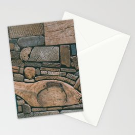 pieces of wood Stationery Cards