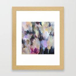 Colourful Abstract - Grandma's Garden Framed Art Print
