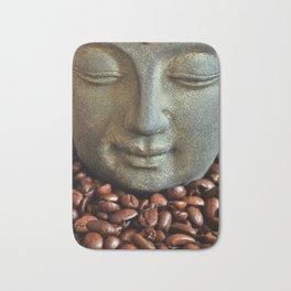 Coffee Buddha 3 Bath Mat