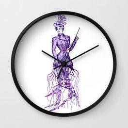 Victorian Jelly Mermaid Wall Clock