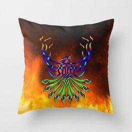 Phoenix-Pacis Throw Pillow