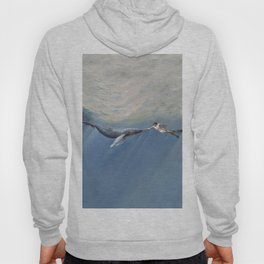 The Creation of Adam the Whale Hoody